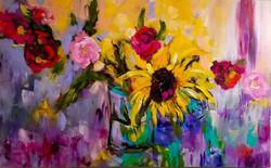 "The Colors of Joy 56"" x 35"""