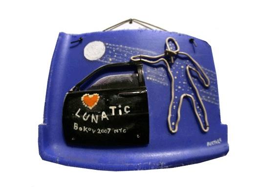 """Lunatic 2007, 21"""" x 21"""""""