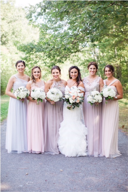 Alicia and her Bridesmaids