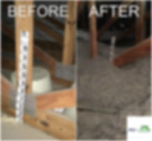 Attic Insulation Before and After