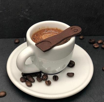 Espresso mit Spoonie choc