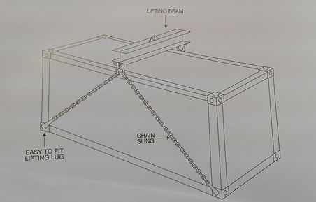 CONTAINER LIFTIG SYSTEM