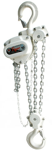TIGER SS12 CORROSION RESISTANT CHAIN BLOKS