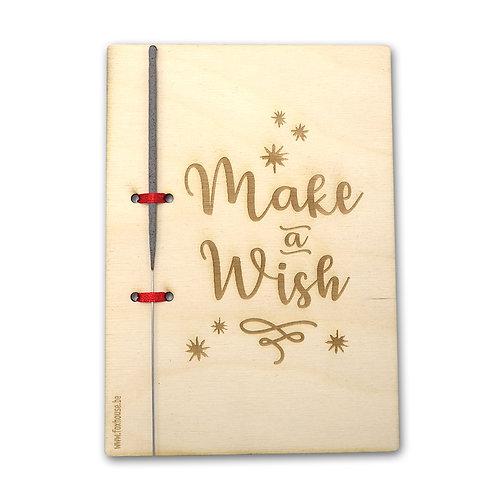 Kerstkaart 'Make a Wish'