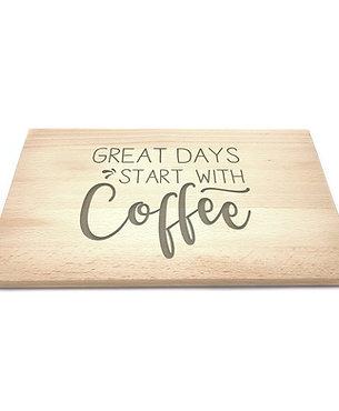 Ontbijtplank 'Coffee'