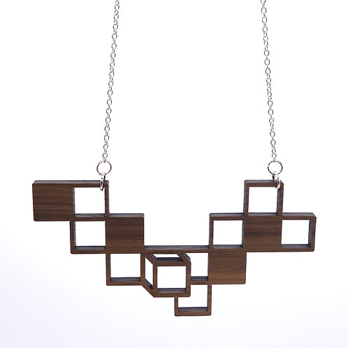 Hanger 'Cubes' - hout