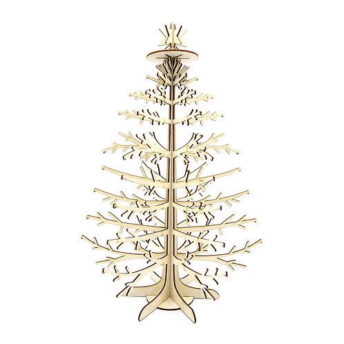 Houten kerstboompje 'Naturel'