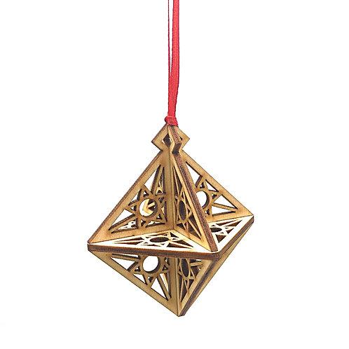 Kerstbal Diamant 'Star'