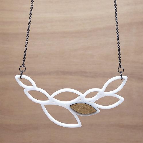 Hanger 'Leaves' - wit