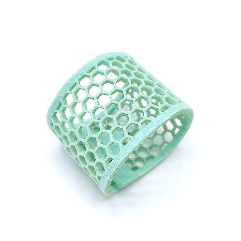 Vilten servetring 'Mint Green' (set van 3 stuks)