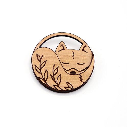 Broche 'Nature Fox'