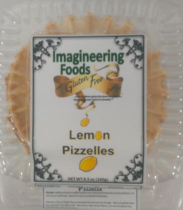 Lemon Pizzelles