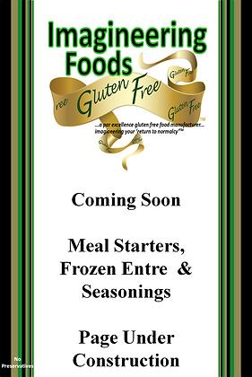 Meal Starters, Frozen Entres' & Seasonings