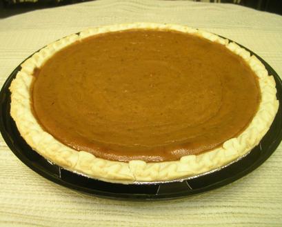 """Premade 9"""" Pumpkin Pie"""