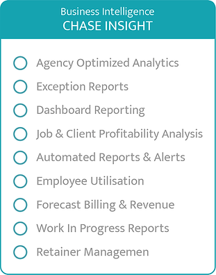Chase Insight Business Intelligence Reporting