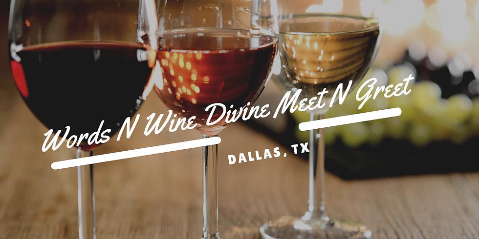 Words N Wine Divine Meet & Greet Dallas