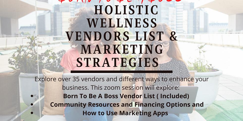 Born To Be A Boss II: Vendors List & Marketing Strategies