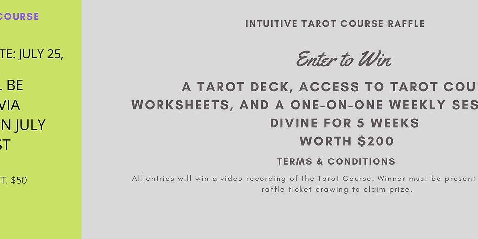 Intuitive Tarot Course Raffle