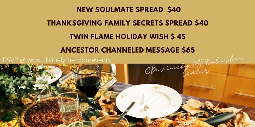 Thanksgiving Tea  Time Specials