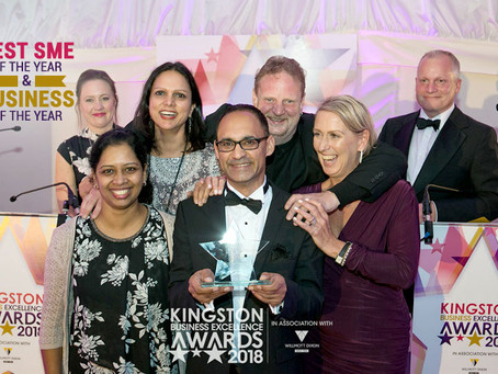 TWHNH Wins at the Kingston Business Excellence Awards