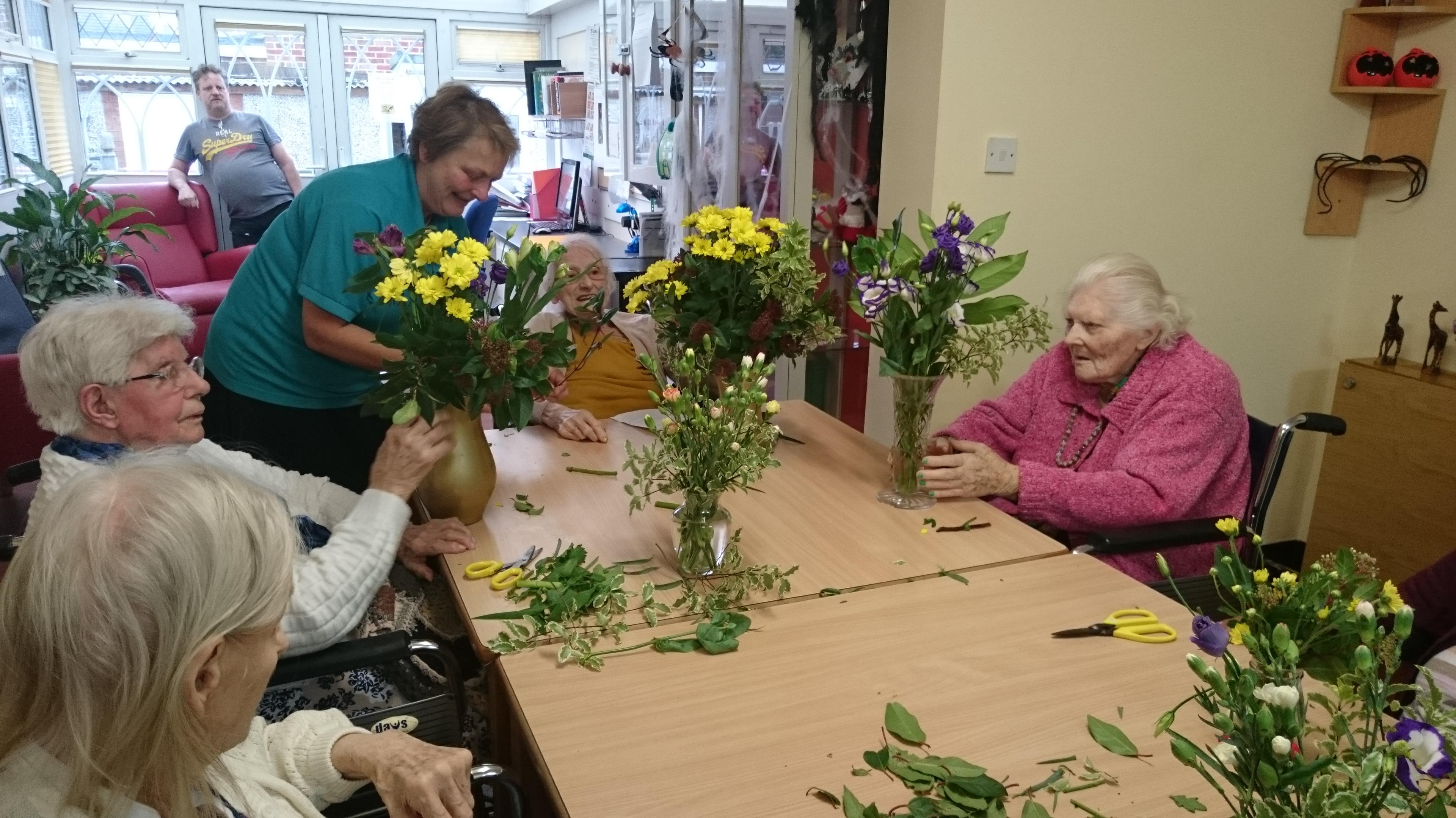 Gail's Flower Arrangement Activity