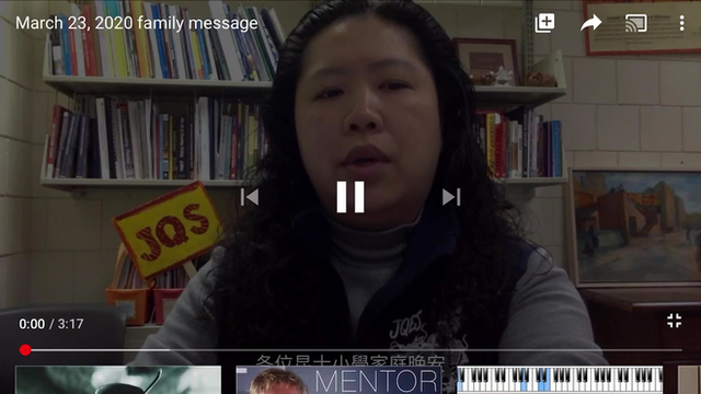 JQES Administration Video Message, 3/23/20