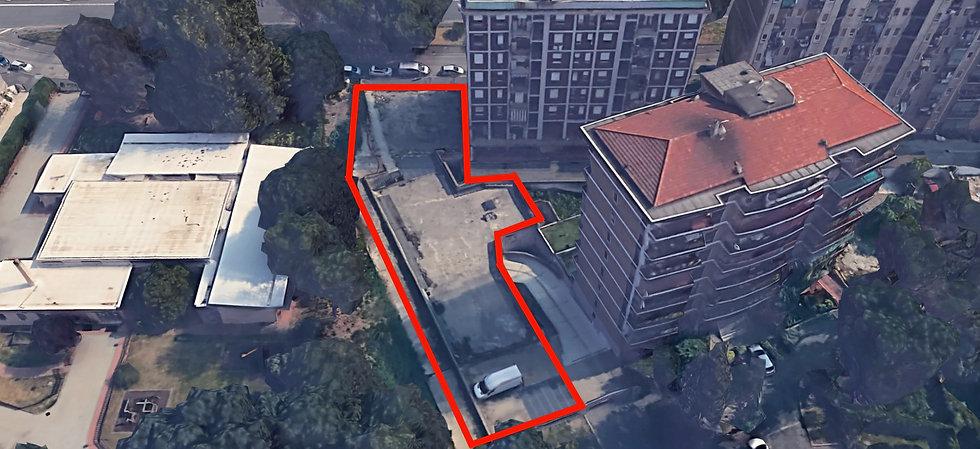 Area urbana di costruzione residenza per
