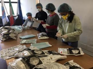 Dedalo fornisce 6.500 Dispositivi di Protezione Individuale