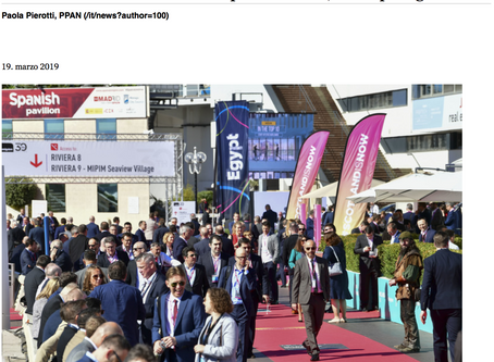 """The Daedalus Group among the Italian """"protagonists"""" at MIPIM 2019"""