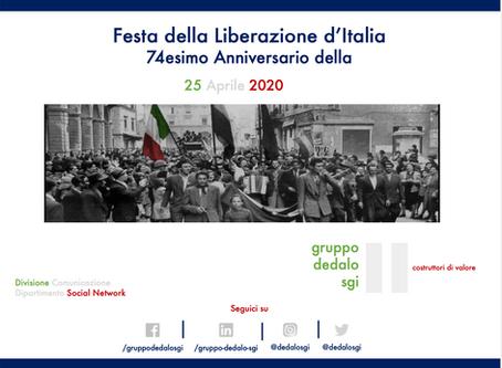 Felice Festa della Liberazione d'Italia