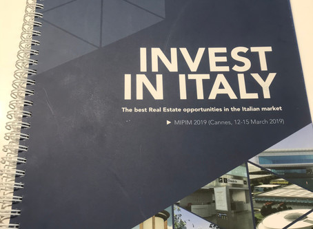 MIPIM 2019: The best real-estate investment opportunities in Italy