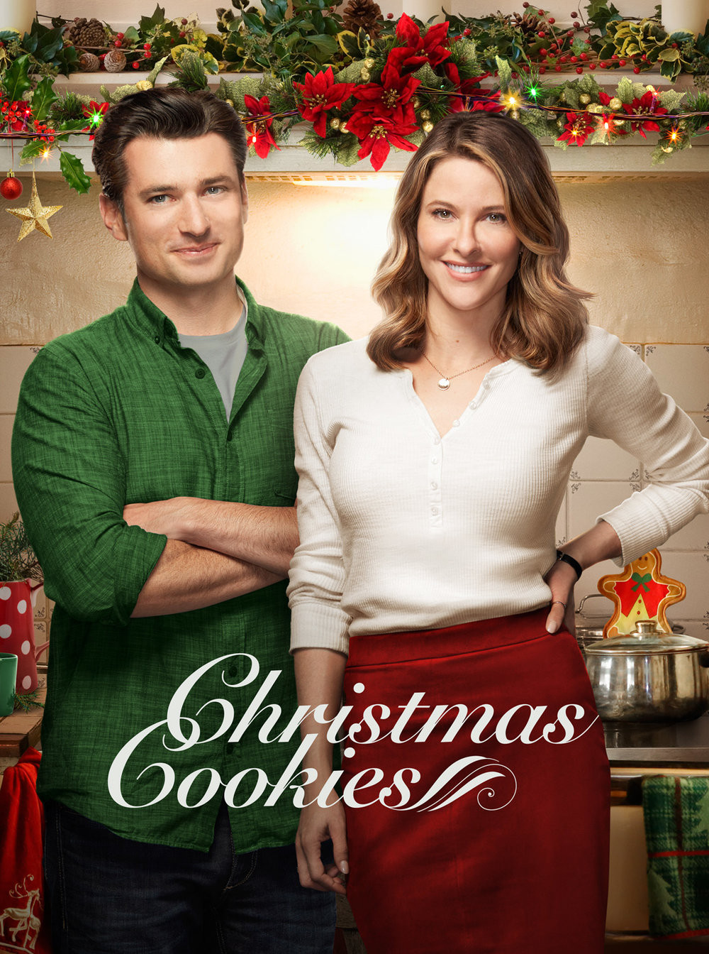 """Christmas Cookies"" Hallmark movie poster"