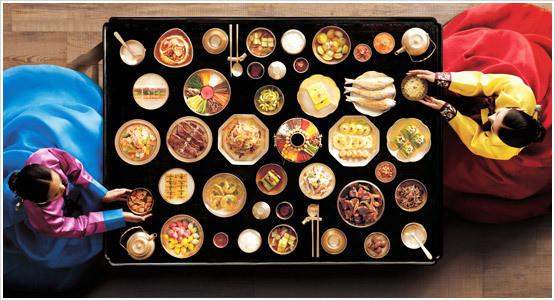 Korean breakfast....or lunch? Maybe dinner?