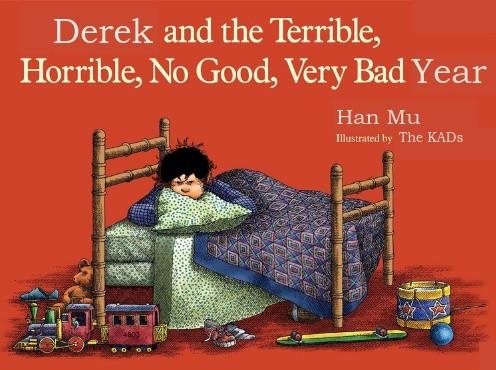 Book jacket for Derek's book