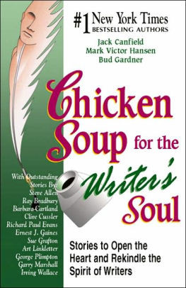 Cover for the Book Chicken Soup for the Writer's Soul