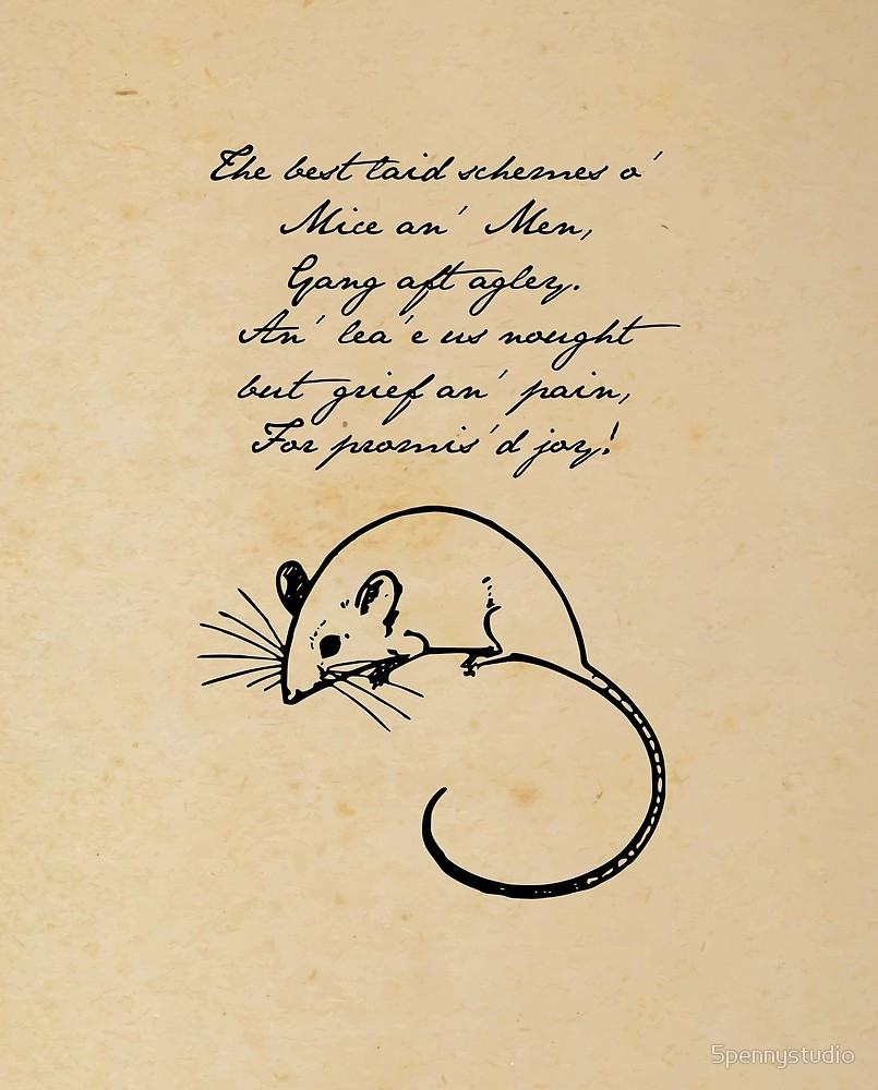 Rober Burns' To A Mouse