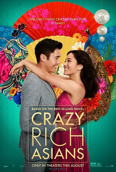 Movie poster for Crazy Rich Asians