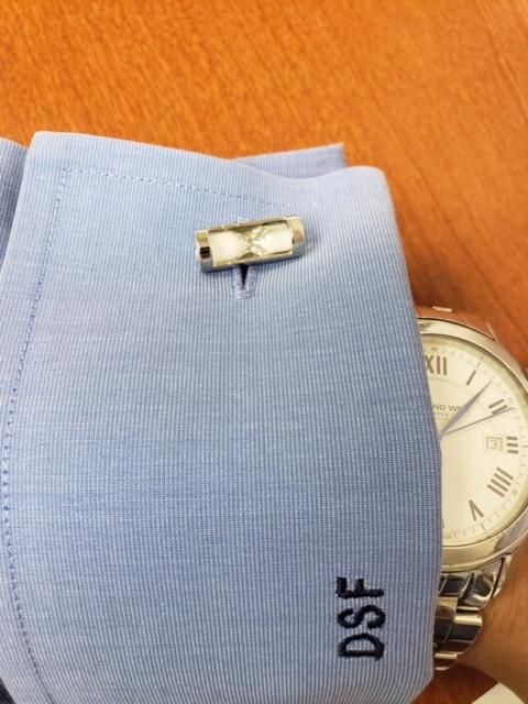 Hourglass cufflinks