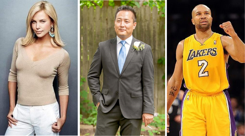 Charlize Theron, Our Derek Fisher, and the Other Derek Fisher