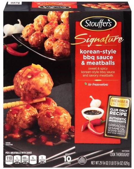 Stouffer's BBQ Meatballs