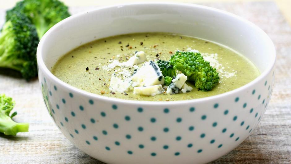 Cum sa mananci broccoli si sa iti placa/ Broccoli gorgonzola soup