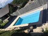 Schwimmbad Quadro 4E