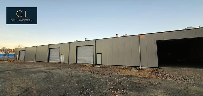 großzügige Lagerhalle 600m²_1200m² in Top Lage von Brüggen Bracht