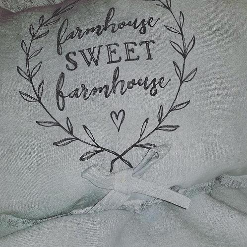 Farmhouse throw blanket set