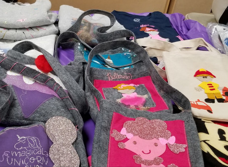 Felt handbag Collection  We now do matching shirts to go with your child's purse, tote, Add a name.