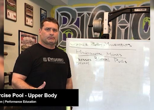 Exercise Pool: Upper Body Movements