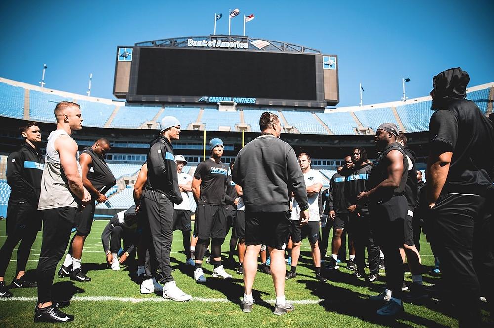 photo by, Carolina Panthers