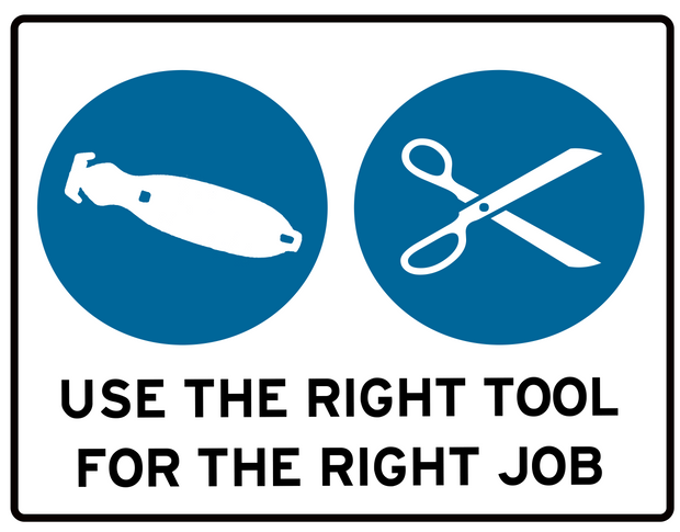 Right Tool Right Job.png