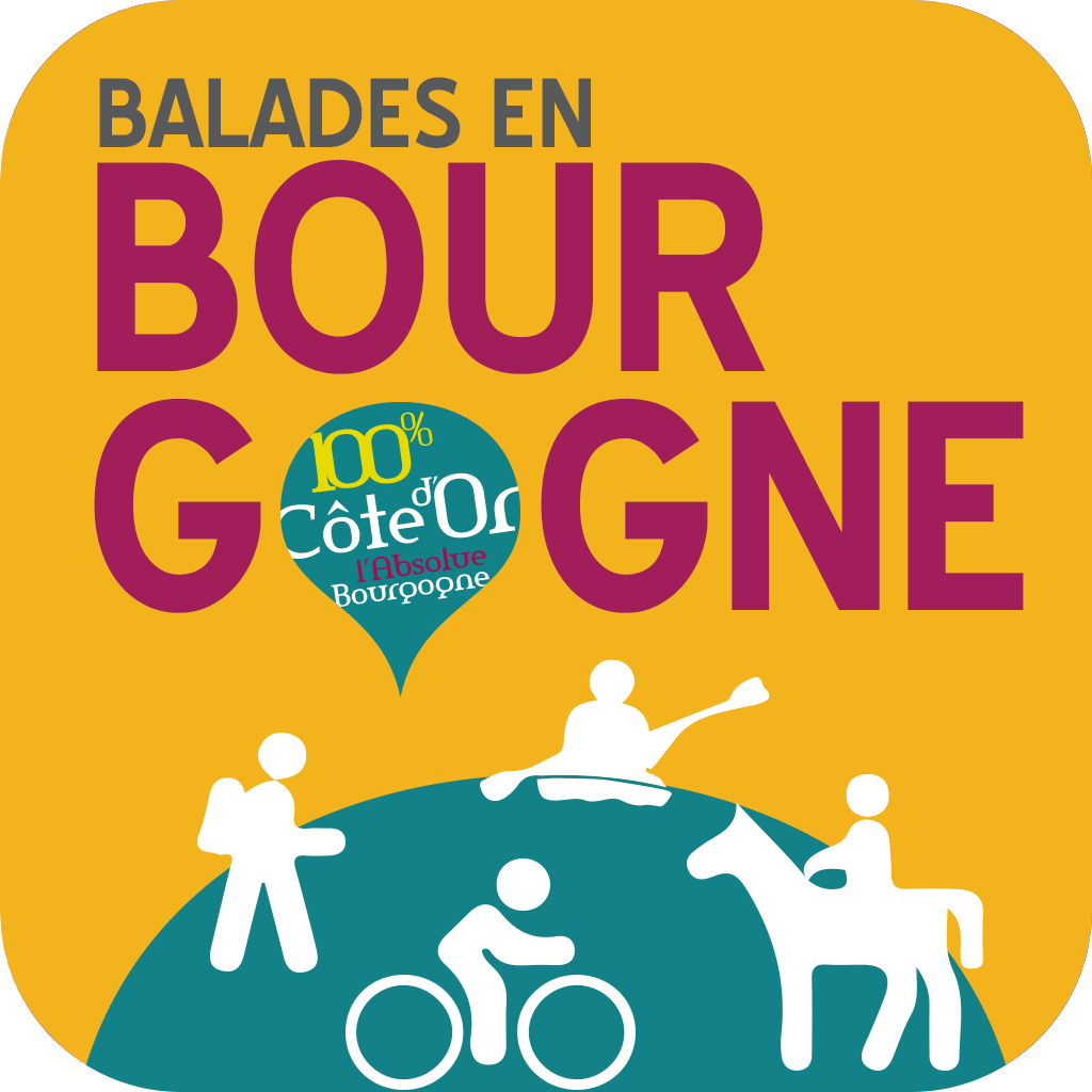 Application Balades en Bourgogne
