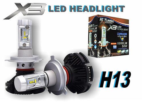 Headlight X3 H13